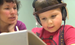 Local autistic boy making greats strides with music therapy
